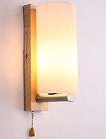 cheap -Wall Light Ambient Light Wall Sconces 3W 220V E27 Traditional/Classic Modern/Contemporary Shiny