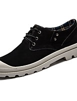 cheap -Men's Shoes Pigskin Winter Comfort Sneakers For Casual Black Gray Brown