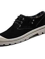 economico -Da uomo Scarpe Pelle di maiale Inverno Comoda Sneakers Per Casual Nero Grigio Marrone