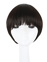 Women Synthetic Wig Capless Short Straight Medium Brown Natural Hairline Bob Haircut Lolita Wig Celebrity Wig Halloween Wig Cosplay Wig