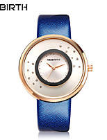 cheap -Women's Casual Watch Fashion Watch Chinese Quartz Water Resistant / Water Proof Leather Band Sparkle Casual Elegant Blue Brown Fuchsia