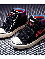 economico -Da ragazzo Scarpe Di corda Inverno Autunno Comoda Sneakers Footing Stivaletti/tronchetti Nastro a strappo Per Casual Nero Blu Cachi