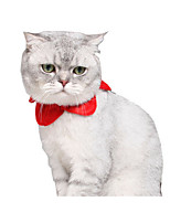 cheap -Cat Dog Collar Christmas Dog Clothes Christmas Color Block Red Green Costume For Pets