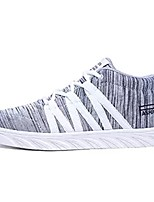cheap -Men's Shoes Tulle Spring Fall Comfort Sneakers For Casual Black/White Gray