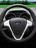 Automotive Steering Wheel Covers(Leather)For Ford 2013 2014 2015 2016 2017 Mondeo Edge