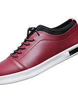 Men's Shoes Fall Comfort Sneakers for Outdoor White Black Wine