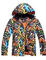 Unisex Ski Jacket Warm Waterproof Windproof Wearable Antistatic Breathability UV resistant Ski / Snowboard Hiking Cross Country