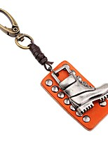 Keychains Jewelry Leather Alloy Irregular Classic Fashion Going out Street