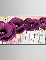 Hand-Painted Still Life Horizontal,Modern One Panel Canvas Oil Painting For Home Decoration