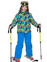 Ski Jacket with Pants Kid's Ski & Snowboard Ski/Snowboarding Snow Sports Warm Fast Dry Waterproof Thermal / Warm Quick Dry Windproof