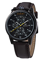 cheap -MEGIR Men's Casual Watch Fashion Watch Dress Watch Wrist watch Quartz Leather Band Casual Cool