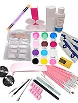 Kits para Manicure Nail Art Decoration Tool maquiagem Cosméticos Manicure Faça Você Mesma