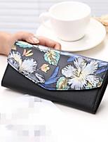 preiswerte -Damen Taschen PU Brieftasche Knöpfe für Normal Alle Jahreszeiten Blau Gold Schwarz