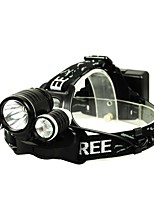 Headlamps Headlight lm Mode Outdoor Bulb Included Gleam LED Lighting Lights for Black