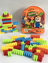 Building Blocks Toys 3D Cartoon People Family Cartoon Toy Cartoon Design DIY Kids 86 Pieces