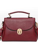 cheap -Women Bags PU Tote Zipper for Shopping Casual All Season Black Red Gray Purple