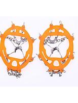 abordables -Tracción para Calzado Crampones Al Aire Libre Escalada Ejercicio al Aire Libre Aleación de Metal Metal cm pcs