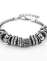 Men's Chain Bracelet Casual Fashion Alloy Geometric Jewelry For Daily Going out
