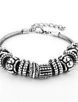 abordables -Homme Chaînes & Bracelets Décontracté Mode Alliage Forme Géométrique Bijoux Pour Quotidien Sortie