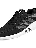 cheap -Men's Shoes Tulle Spring Fall Comfort Sneakers For Casual Black Gray Black/Red