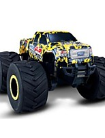 Carro com CR 9119 2.4G Carroça Off Road Car Monster Truck Bigfoot Carro de Corrida Drift Car 1: 8 10 KM / H Controlo Remoto Recarregável