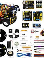 economico -keyestudio smart piccola tartaruga robot car / smart car per aduino robot startermanualpdf installazione videodemo video7 progetti