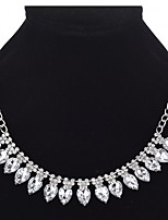 Women's Pendant Necklaces Layered Necklaces Rhinestone Drop Alloy Jewelry For Wedding Party