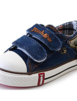 cheap -Girls' Shoes Canvas Spring Fall Comfort Sneakers For Casual Burgundy Light Blue Dark Blue