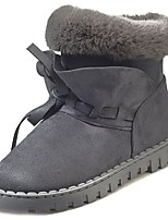 cheap -Women's Shoes Rubber Winter Snow Boots Boots Round Toe For Outdoor Green Gray Black