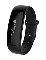 cheap -Smart Bracelet Android 4.0 IOS Alarm Clock Light and Convenient Information Timing Function Slim design Finger sensor Gravity Sensor