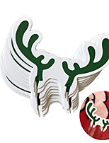 10pcs Christmas Decorations Christmas OrnamentsForHoliday Decorations 8.3*5.3*0.1