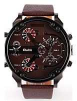 Men's Women's Dress Watch Fashion Watch Wrist watch Quartz Leather Band