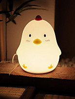 cheap -1PC LED Chicken Shape Night Light Dimmable Rechargeable Warm White USB Powered 5V 4W