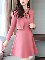 Women's Daily Simple Winter Set Skirt Suits
