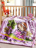 cheap -Super Soft,Yarn Dyed Pattern Polyester Blankets