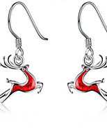 Women's Drop Earrings Animals Cartoon Lovely Alloy Jewelry For Christmas