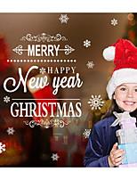 Noël Stickers muraux Autocollants avion Autocollants muraux décoratifs,Papier Matériel Décoration d'intérieur Calque Mural