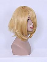 cheap -Cosplay Wigs Reborn! Oz Bezarius Anime Cosplay Wigs 35 CM Heat Resistant Fiber Unisex