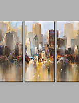 Stretched Canvas Print Modern,Three Panels Canvas Vertical Print Wall Decor For Home Decoration