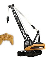RC Car 1572 15 Channel 2.4G Excavator Construction Truck Cranes * KM/H Remote Control Rechargeable Electric