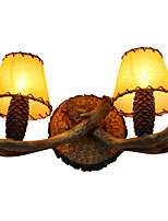 Wall Light Ambient Light Wall Sconces 5W 220V E14 Rustic/Lodge Country