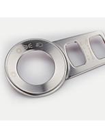 Недорогие -автомобильный Крышки кнопок фар Всё для оформления интерьера авто Назначение Jeep Все года Cherokee Stailess стали