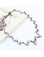 Women's Choker Necklaces Irregular Alloy Fashion Simple Style Jewelry For Party Daily