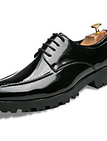 Men's Shoes PU Spring Fall Comfort Oxfords For Outdoor Blue Green Black