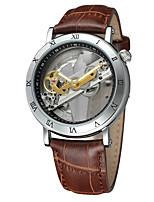 FORSINING Муж. Повседневные часы Модные часы Нарядные часы Наручные часы С автоподзаводом С гравировкой Кожа Группа Винтаж На каждый день