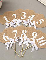 Linen/Cotton Blend Wedding Decorations