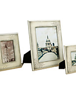 Retro Nostalgia Handmade Natural Wood Picture Frame  F32B