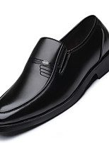 Men's Shoes Leatherette All Season Formal Shoes Loafers & Slip-Ons Trim For Wear to work Party & Evening Black