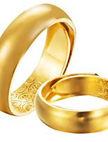 Муж. Жен. Классические кольца Формальная Простой Классика Elegant Позолота Бижутерия Назначение Свадьба Для вечеринок Обручение