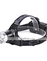 cheap -U'King Headlamps LED 2000 lm 1 3 Mode Cree XM-L2 Portable Durable Camping/Hiking/Caving Everyday Use Cycling/Bike Hunting Fishing